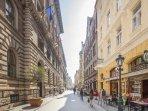 Pedestrian Vaci Street