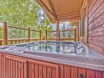 Private Hot Tub off the Kitchen