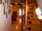 Casa rural en Arévalo restaurada con todo detalle, estructura de madera original de más de 400 años