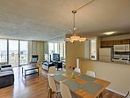 Settle right into this well-appointed condo, filled with warm natural light and all the comforts of home.