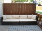 Back porch patio furniture