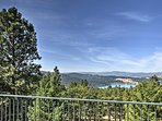 Relish the amazing views of Foys Lake and expansive mountain range.