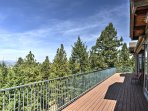 Spend time on the spacious balcony breathing in fresh air.