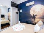 Dormitorio con Smartv Samsung 40 pulgadas