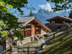 main chalet and annex for staff downstairs and an independent appartement above you can also rent