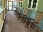 Our rocking chairs are great for relaxing any time of day!