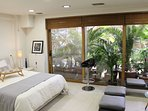 Master Bedroom / Living Room - Point of View