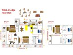 What A Lodge floor plan