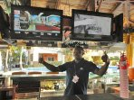 Catch games & your favorite shows with U.S., premium & international channels throughout the resort.