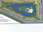 Park Shore Resort Property Map. Blue star indicates elevator locations. This 1st floor unit is in Bldg. I, 52.