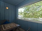Private furnished sundeck