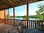Enjoy waking up to the lakeside views off of the main floor balcony.