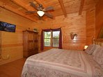 Gorgeous Main Level King Master Suite with Private Bath and Jacuzzi Tub