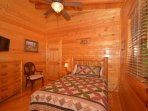 2nd Upstairs Guest Bedroom - Queen Size with TV