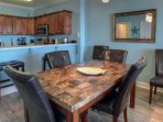 Dining area with plenty of seating !