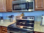 Everything you need in this fully equipped kitchen. All stainless steel appliances!