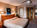 2nd level - master bedroom - king bed