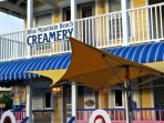 Time for Ice Cream at The Creamery in Blue Mountain Beach