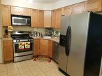 Eat-in kitchen with use of fridge, microwave and coffee pot. Sorry no stove/oven use.