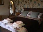 Ground floor bedroom with wheelchair access and en-suite wet room