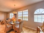 Enjoy a Family Meal  or Entertain in this Spectacular Dining Area with Seating for 4