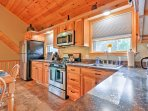 Prepare all your favorite treats in this fully equipped kitchen.