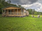 Discover Livingston Manor from this charming 3-bedroom, 2-bathroom vacation rental cabin.