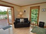 Living area onto deck