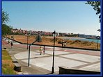 Plaza del paseo marítimo