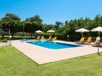 60 sqm ecological swimming pool and children's swimming pool