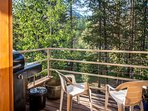Fire up the grill for a cookout on the deck!