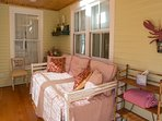 Porch trundle bed