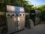 BBQ Grills for Guest Use
