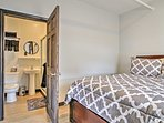 You'll have privacy and comfort in the master bedroom with an en-suite bathroom.