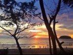 Beautiful Kata Beach At Sunset.
