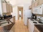 Modern Kitchen is fully equipped for all your needs
