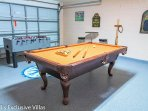 Games Room - great entertainment for all and laundry facilities tucked away