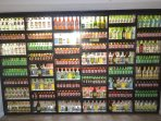 Our signature 'Bottle Wall' designed by the owners of Dreamtime!