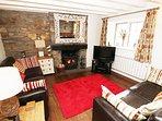 Crydda Cottage Croyde Holiday Cottage Lounge