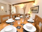 Croyde Holiday Cottages Crydda Family Dining