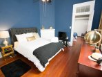 Bedrooms also feature noise cancellation machines, blackout curtains, and nightstand.