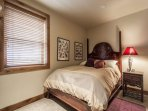 The third guest bedroom is equipped with a queen size bed, large closet and shares the second full bathroom with the...