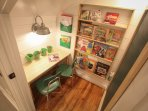 Another view of kids nook