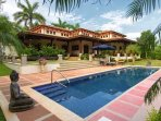Casa de Campo, the pool and grounds