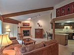 Live the lake life at this 2-bedroom, 1.5-bath vacation rental condo in Fontana, Wisconsin!