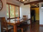 Main floor dining room.