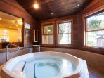 Indoor Hot Tub in the Clubhouse