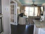 Highlights include hardwood floors and an upscale decor.