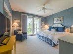 The 3rd bedroom has a king bed, large Smart TV & en suite bath.