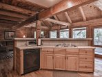 Cooking for a big group is easy as pie in this fully equipped kitchen.